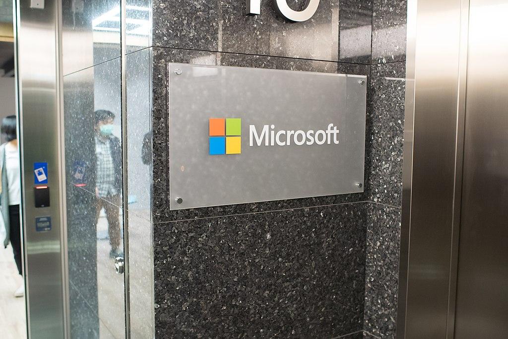 FileMicrosoft Taiwan Corporation headquarters plate 20161126jpg