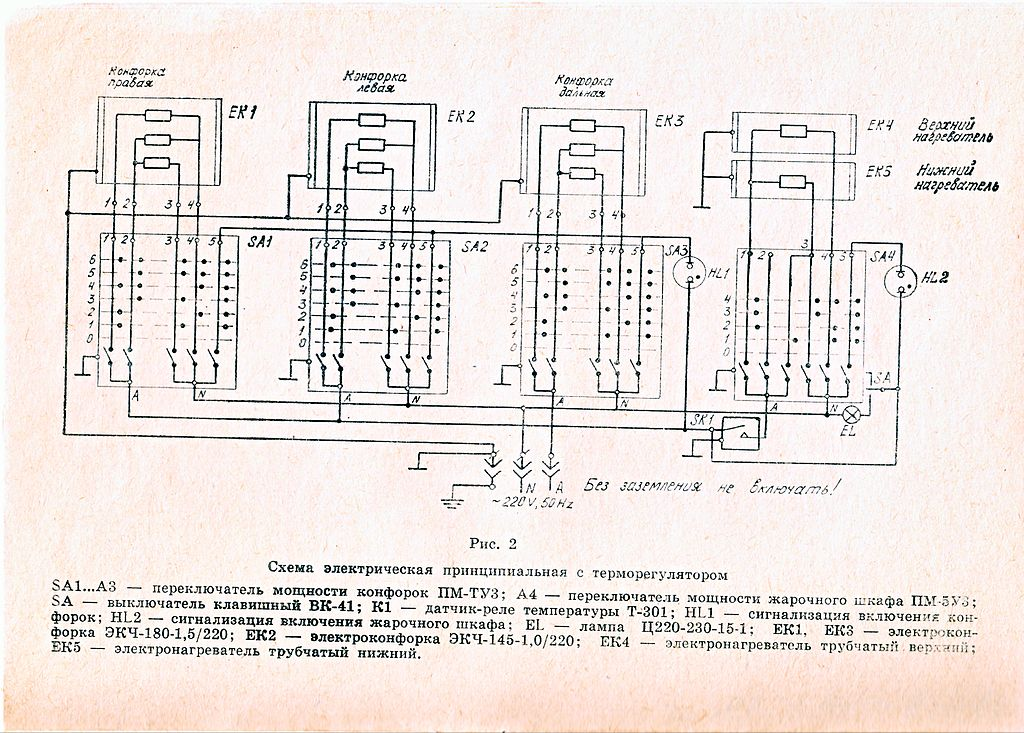 FileWiring diagram of USSR electric stoveJPG - Wikimedia Commons