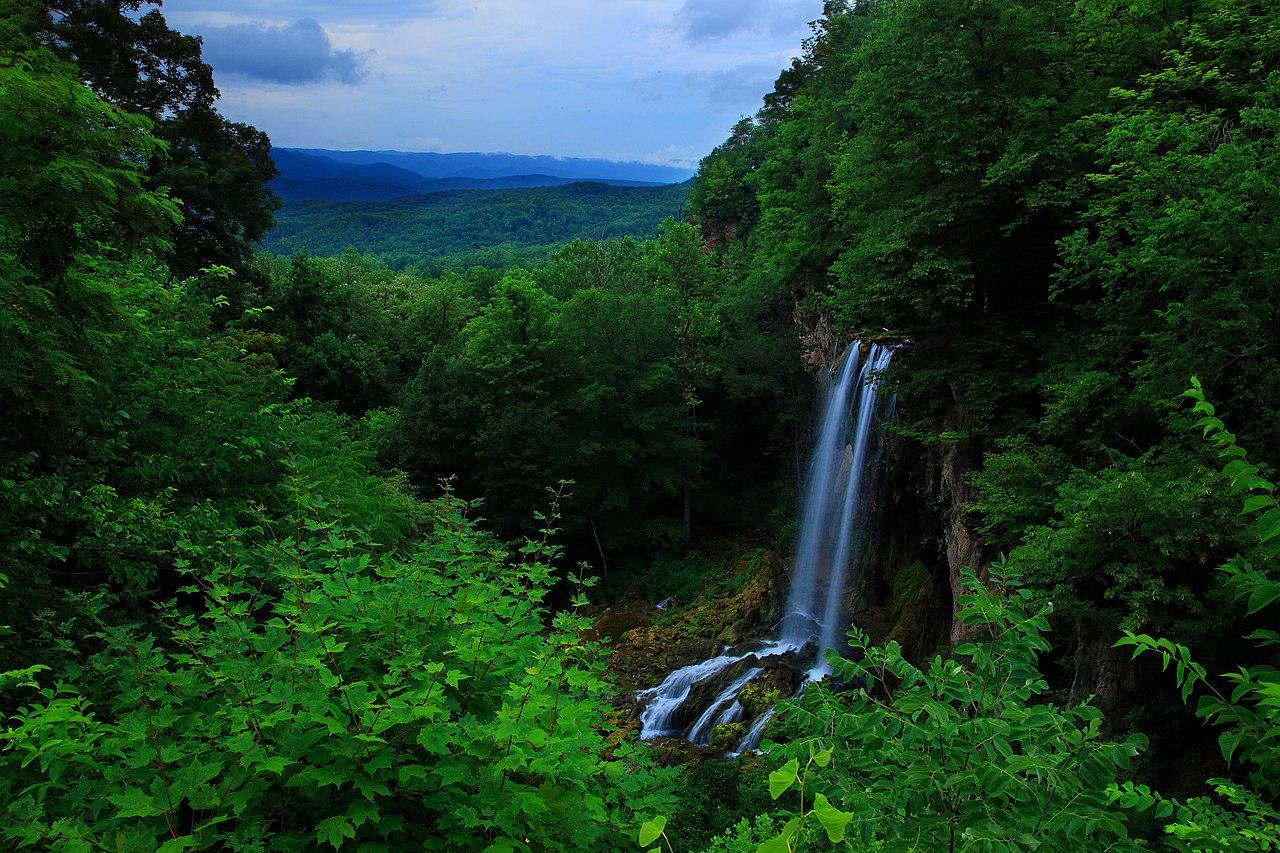Fall Themed Computer Wallpaper File Blue Ridge Mountain Waterfalls3 Virginia