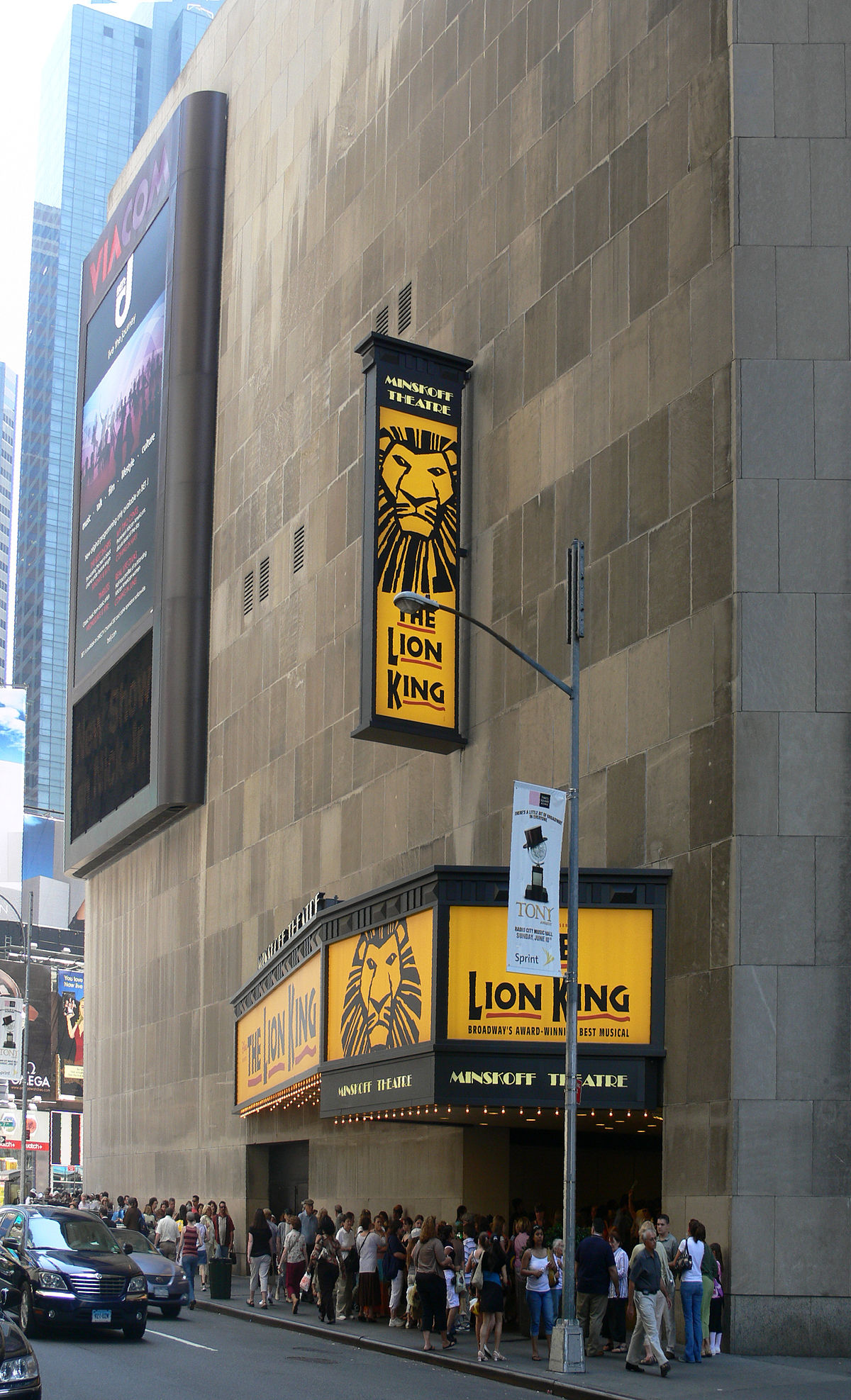 the lion king on broadway wikipedia