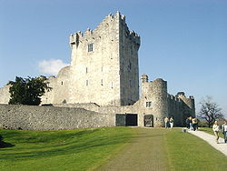 Ireland Fall Wallpaper Ross Castle Wikipedia