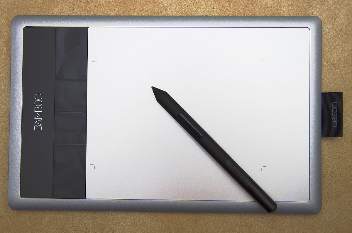 Bamboo Tablet Graphics Tablet Wikipedia
