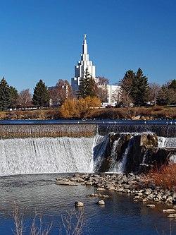 American Wallpaper Fall River איידהו פולס ויקיפדיה
