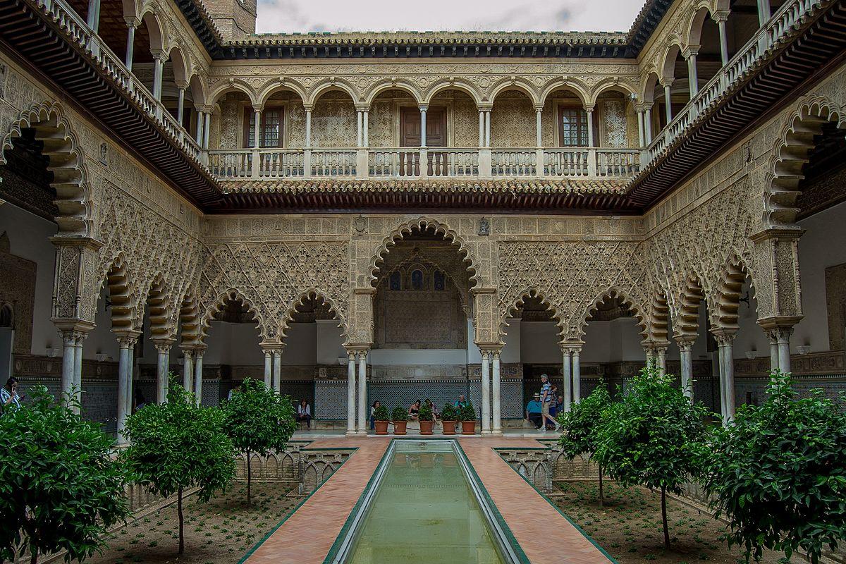Real Alcazar De Sevilla Wikipedia La Enciclopedia Libre