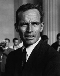 Actor Charlton Heston at the Civil Rights Marc...