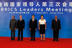 BRICS summit participants: Prime Minister of I...