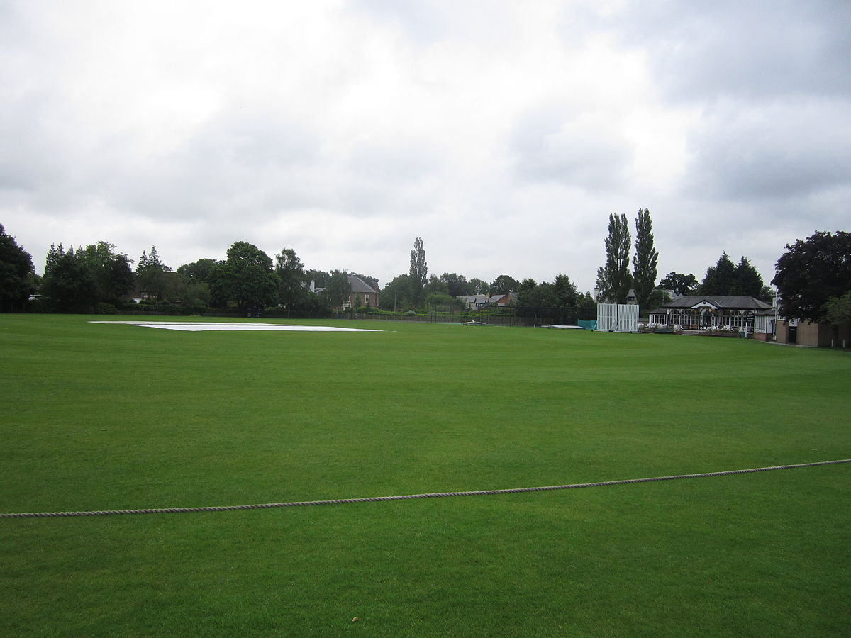 Club Cricket South Downs Road Cricket Ground, Bowdon - Wikipedia