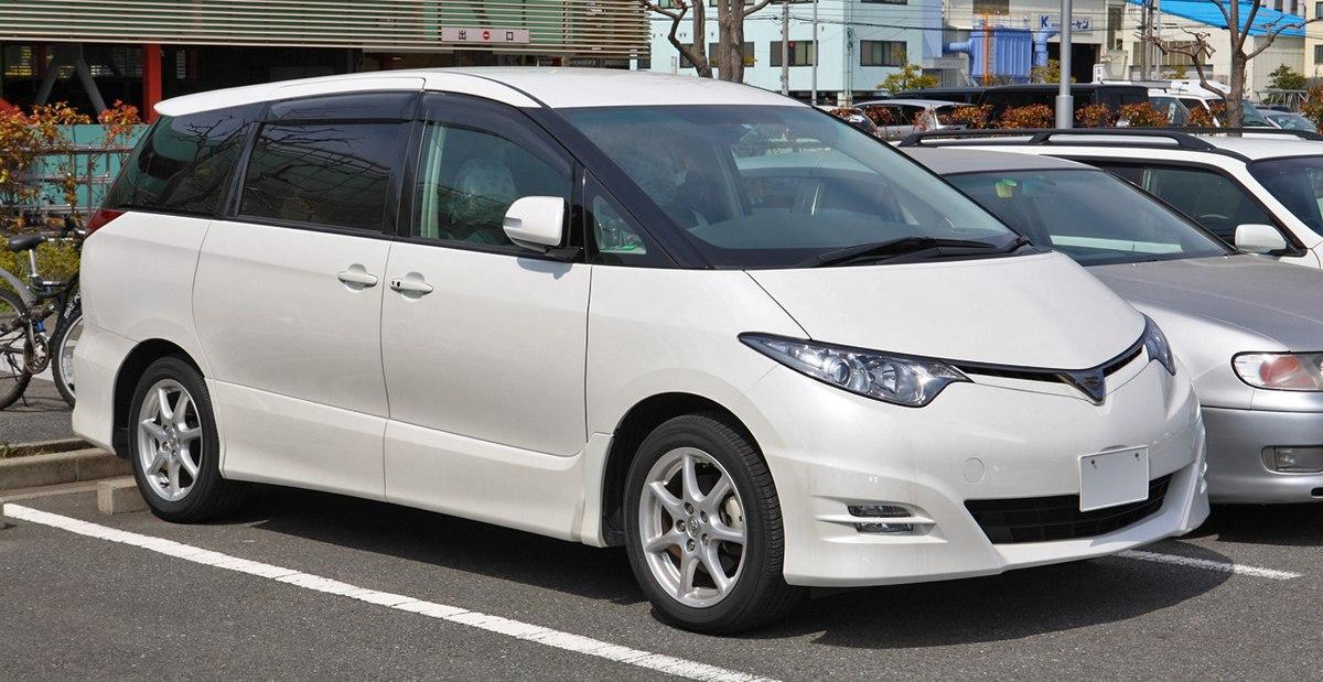 Toyota Previa - Wikipedia
