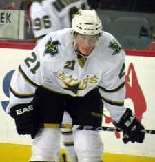 English: Dallas Stars forward Loui Eriksson du...