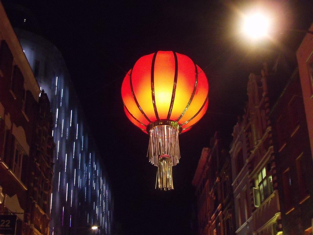 Lanterns Wallpaper Hd File Chinatown London Wardour Street Big Chinese