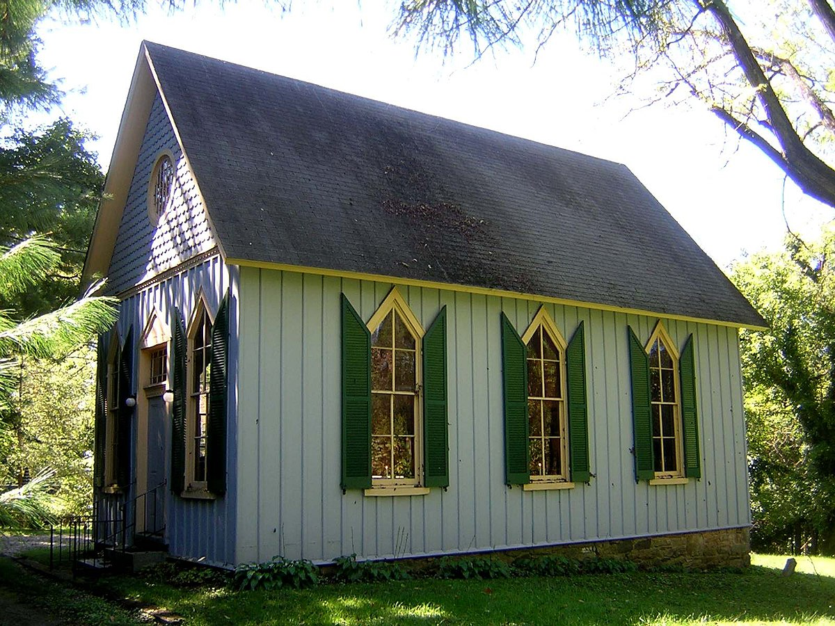 Carpenter Gothic Farmhouse St John 39s Church Ruxton Maryland Wikipedia