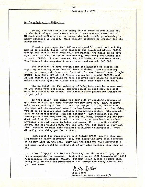 FileBill Gates Letter to Hobbyistsjpg - Wikimedia Commons
