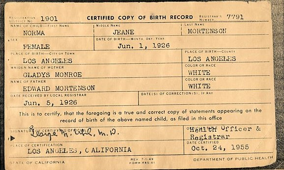 Birth certificate - Simple English Wikipedia, the free encyclopedia - birth certificate