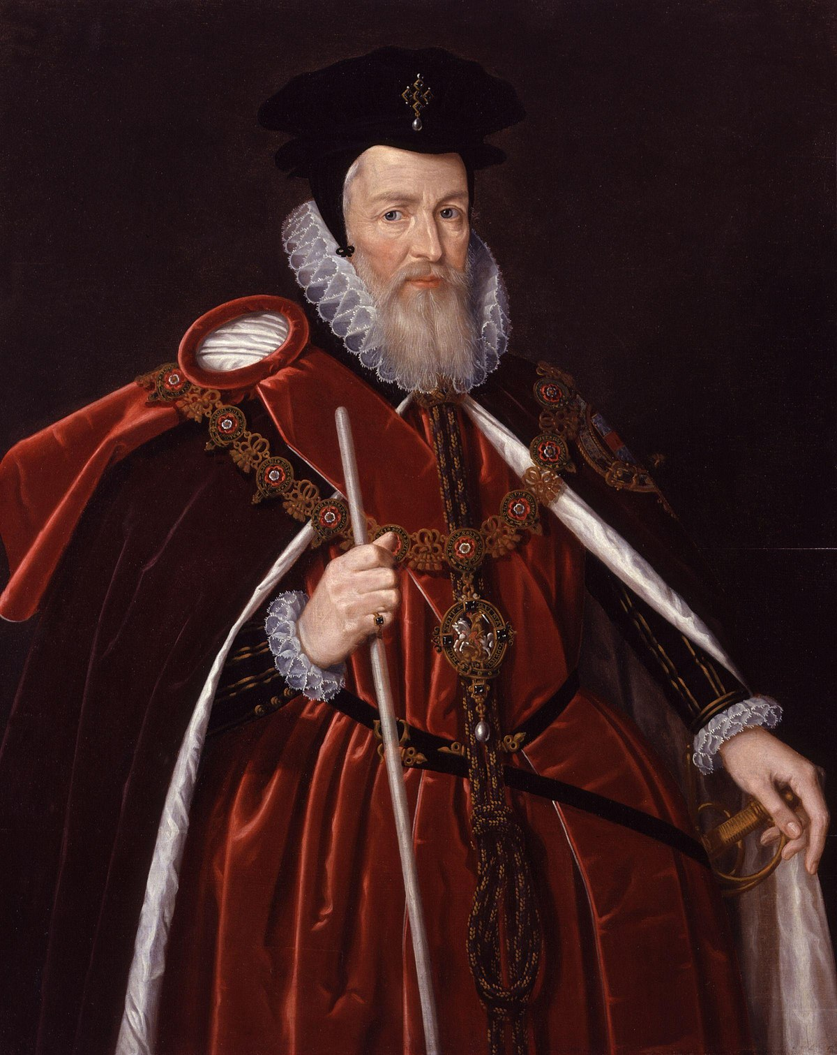Sessel Queen Elizabeth William Cecil 1st Baron Burghley Wikipedia