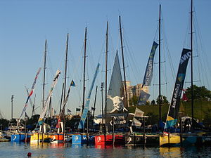 Participating Yacht's of 2006 Volvo ocean race...