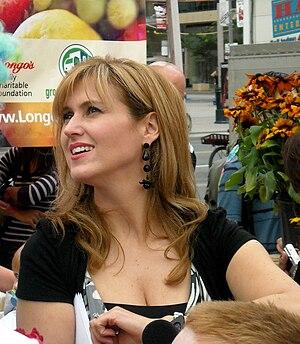 TV presenter Jennifer Valentyne. Original capt...