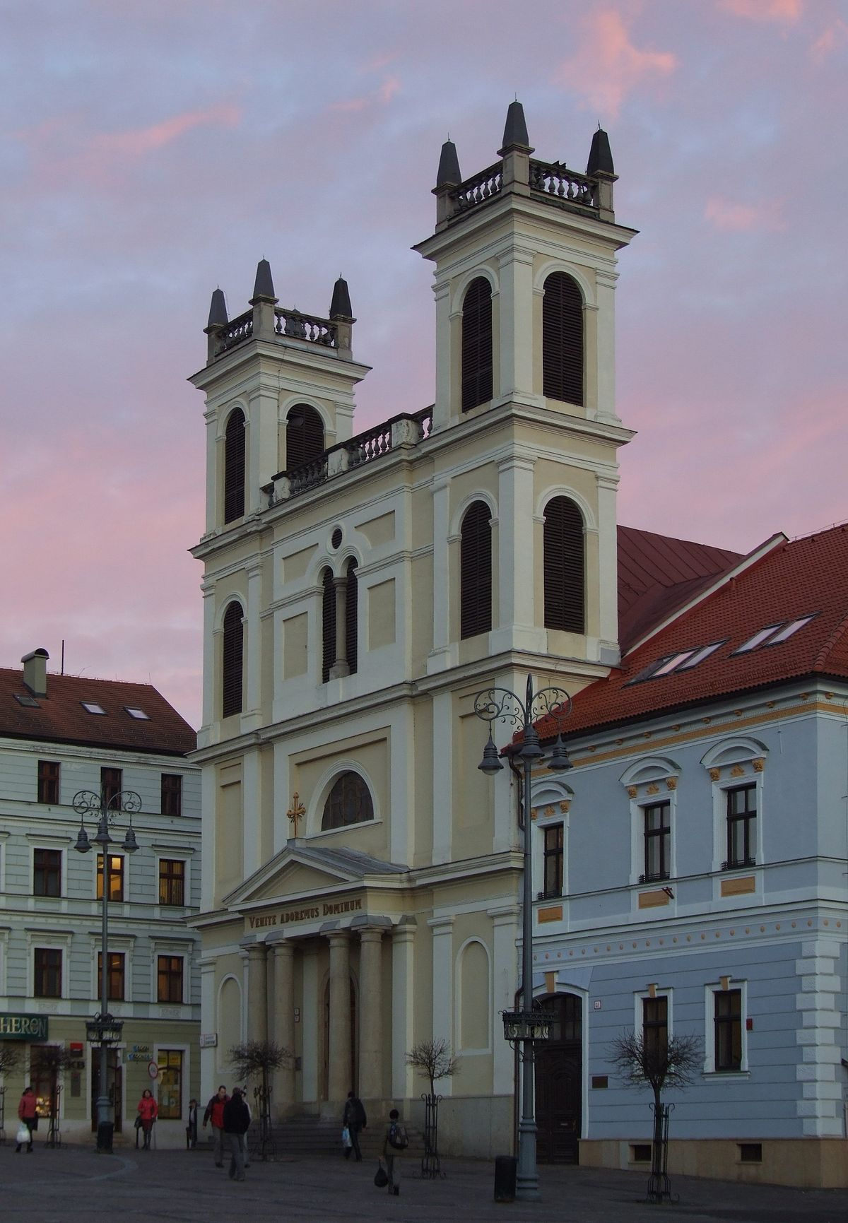 Baroque Style St Francis Xavier Cathedral (banská Bystrica, Slovakia