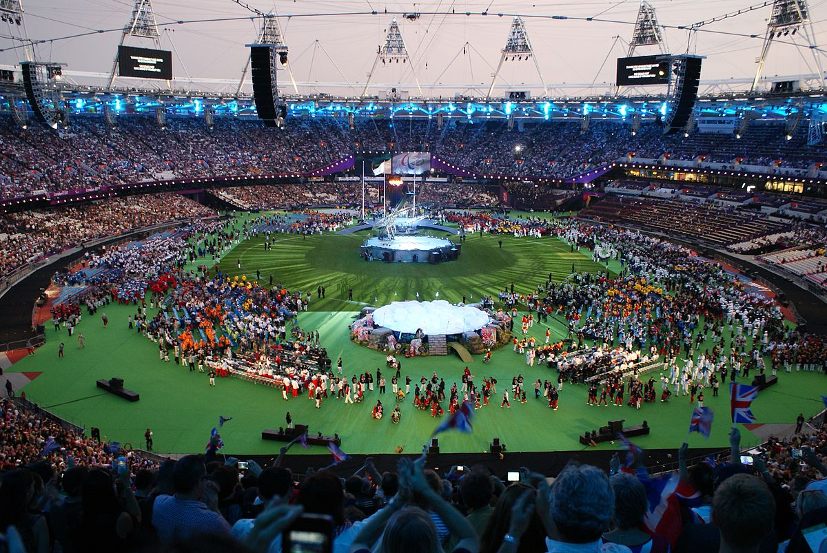 Table Of 4 2012 Summer Paralympics Closing Ceremony - Wikipedia
