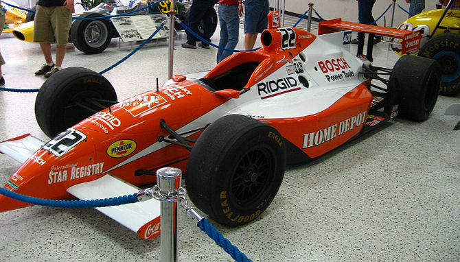 Tony Stewart's 1999 Indianapolis 500 entry on ...