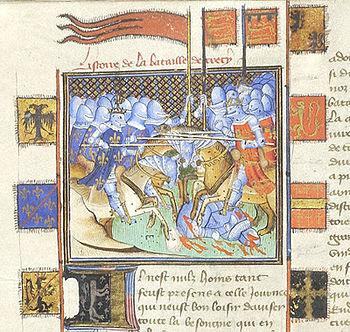 Česky: Bitva u Kresčaku 1346