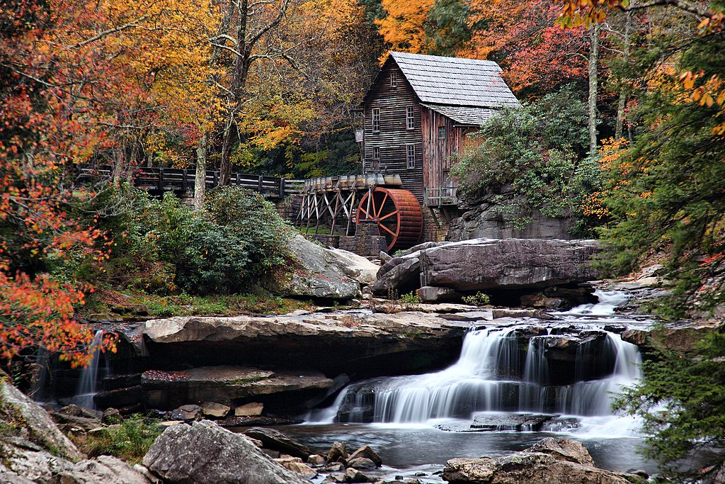 American Paint And Wallpaper Fall River File Autumn Grist Mill West Virginia Waterfalls1 West
