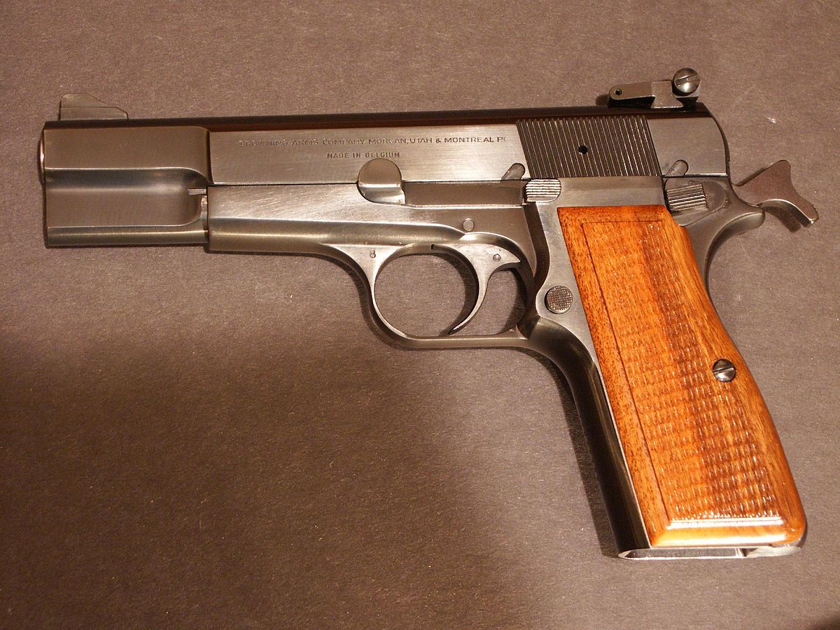 1 In Mm Browning Hp Wikipedia