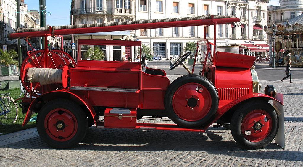 cv pompier original