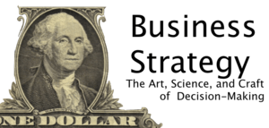 Cover for the Business Strategy Wikibook.