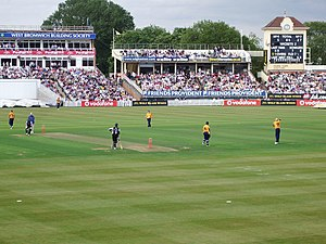 Twenty20 cricket: Warwickshire v Worcestershire,