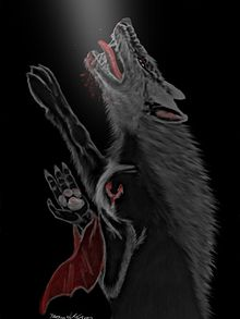 Black Wolf Wallpaper Voirloup Wikip 233 Dia