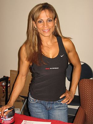 English: Adela Garcia at the 2007 NPC Texas St...