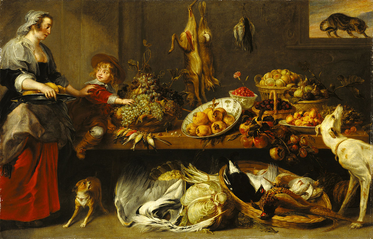 Pintura Micenica File Frans Snyders With Figures Attributed To Jan