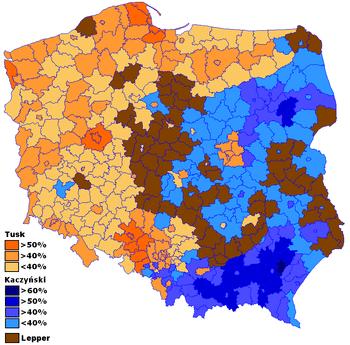 Wybory prezydenckie w Polsce w 2005 roku – Wikipedia, wolna encyklopedia