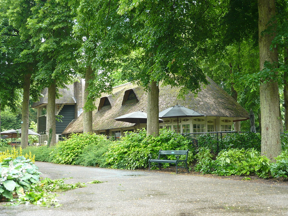 Wat Is Een Architect Theehuis Wilhelminapark - Wikipedia