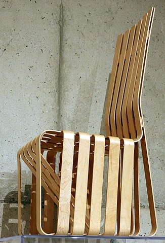 File Frank Gehry Per Knoll International Inc Sedia High Sticking 1989 91 Jpg Wikimedia Commons - Sedia Inc Milwaukee Wi