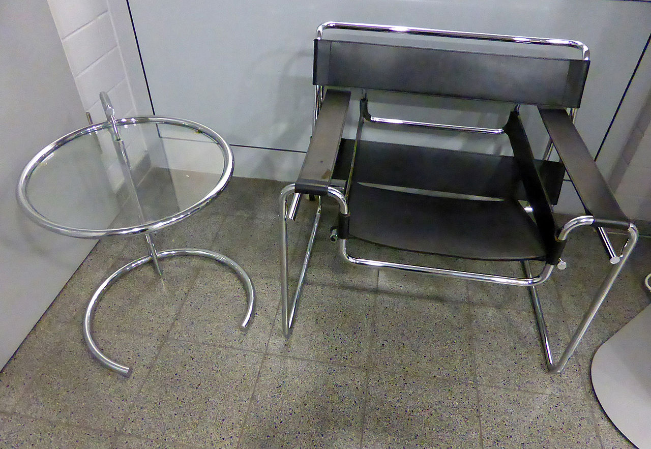 Eileen Gray Tisch File Marcel Breuer Wassily Chair Eileen Gray Adjustable