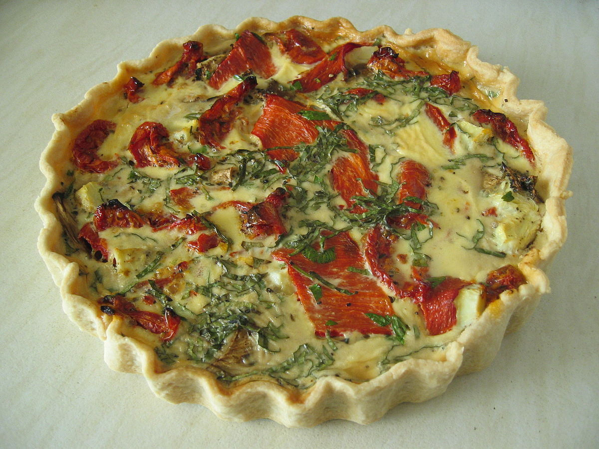 Cuisine Meaning English Quiche Wikipedia