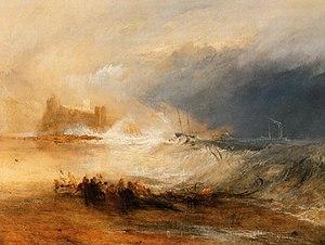 """English: """"Wreckers, Coast of Northumberla..."""