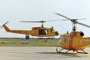 I took this photo of CH-118 Huey helicopters 1...