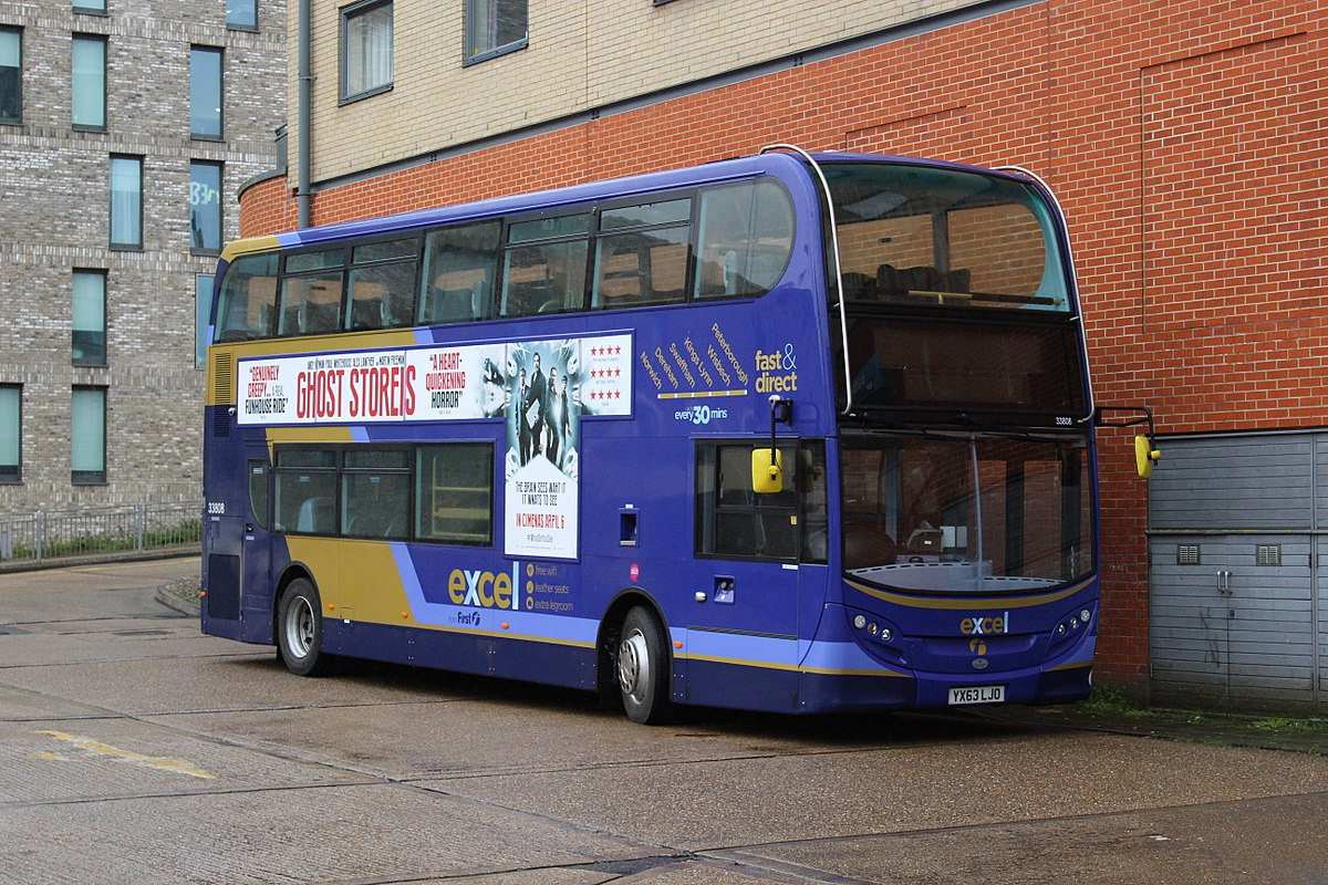 Air Ride Norwich Excel Bus Network Wikipedia
