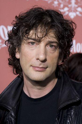 English writer Neil Gaiman. Taken at the 2007 ...
