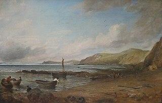 File:'Weymouth Bay' by John Constable, Dayton Art Institute.JPG - Wikimedia Commons