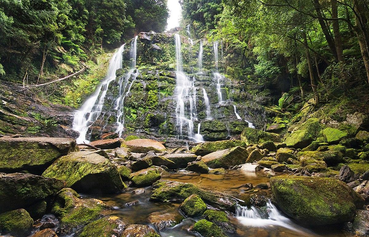 Fall Mountain Scenery Wallpaper Nelson Falls Wikipedia