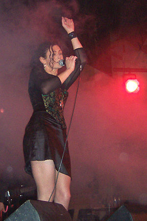 Candia Ridley, singer for Inkubus Sukkubus, si...