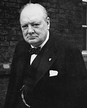 Winston Churchill, Prime Minister of the Unite...