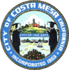 Official seal of Costa Mesa, California