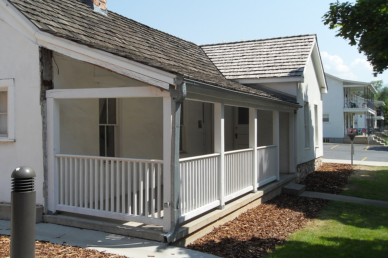 Veranda Anbauen File Building 655 At Fort Douglas Utah Front Porch 25