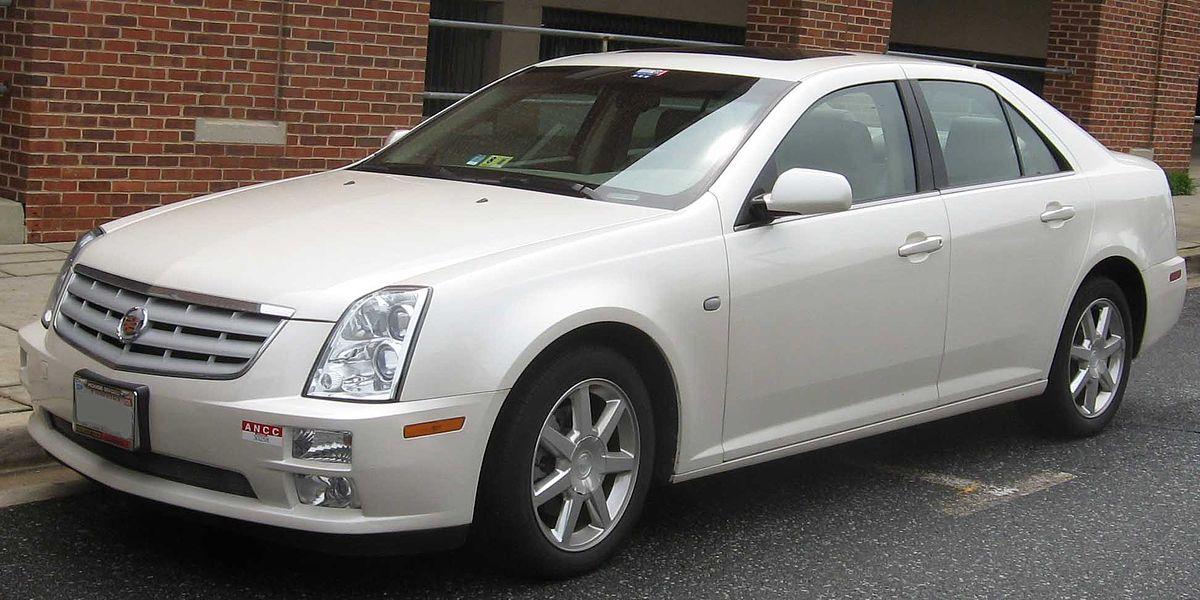 Cadillac STS - Wikipedia