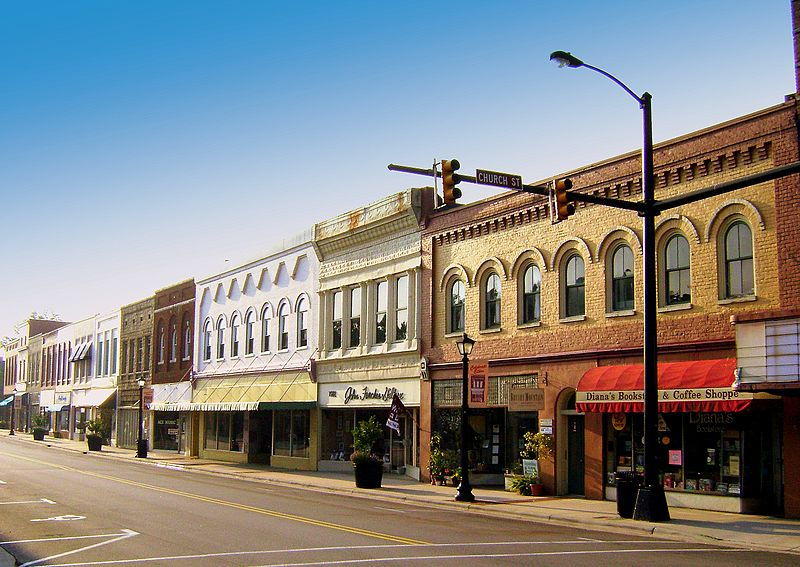 Wallpaper Stores In Sioux Falls Sd File Elkin Nc Downtown Jpg Wikimedia Commons