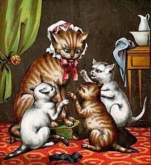 Cute K On Wallpaper سه پیشی کوچولو ویکی پدیا، دانشنامهٔ آزاد